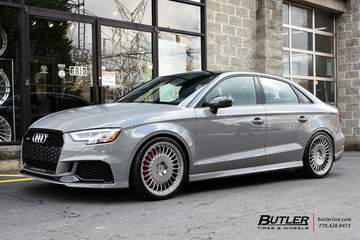 Audi RS3 with 19in Vossen ML-R1 Wheels