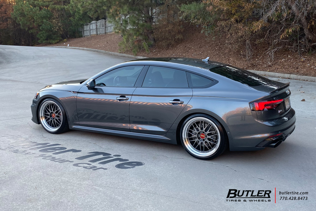 Audi RS5 with 20in BBS LM Wheels