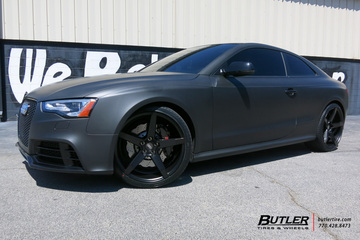 Audi RS5 with 20in Savini BM11 Wheels