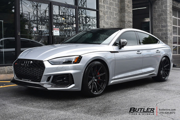 Audi RS5 with 20in Vossen HF-3 Wheels