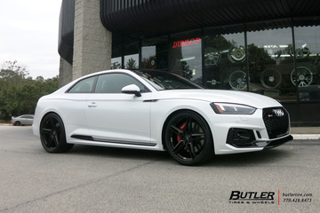 Audi RS5 with 21in Savini SV-F 3 Wheels
