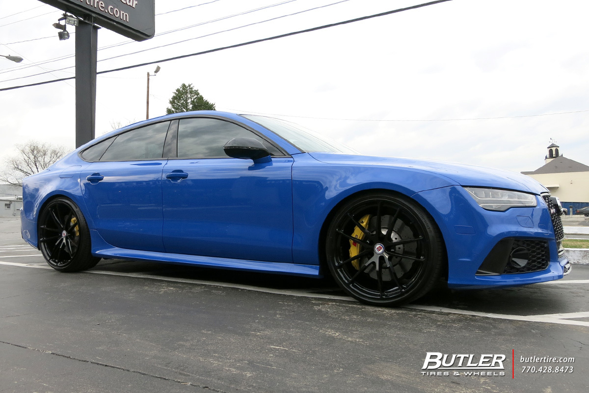 Audi RS7 with 21in HRE P104 Wheels