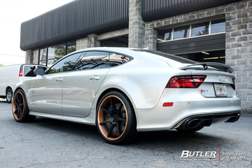 Audi RS7 with 21in Mint EM7 Wheels