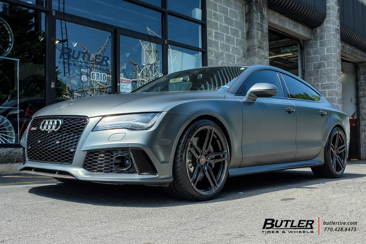 Audi RS7 with 21in Vossen HC-1 Wheels