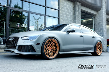 Audi RS7 with 22in Vossen ML-X3 Wheels