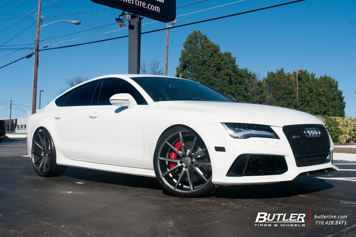 Audi RS7 with 22in Vossen VFS1 Wheels