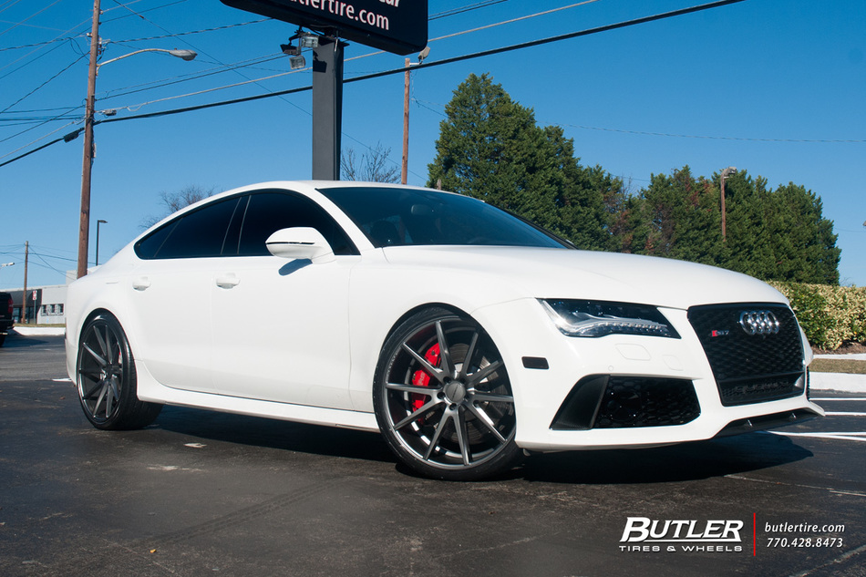 Land Rover Buckhead >> Audi RS7 with 22in Vossen VFS1 Wheels exclusively from