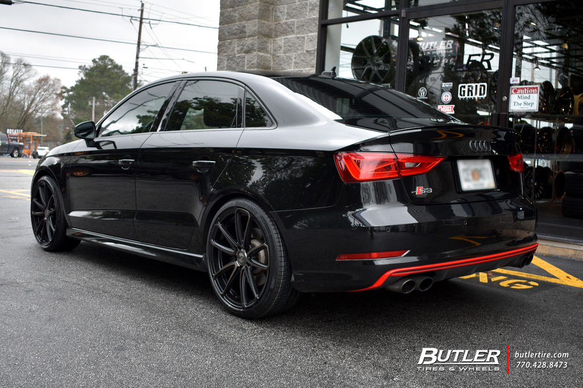 Audi S3 with 19in XO Madrid Wheels