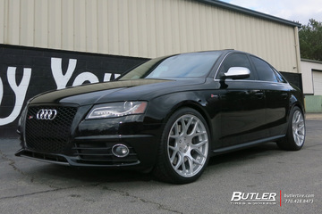 Audi S4 with 19in Avant Garde M590 Wheels