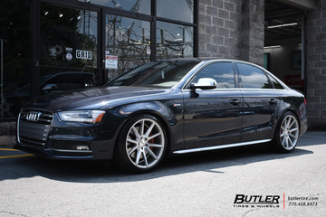 Audi S4 with 19in Vossen VFS1 Wheels