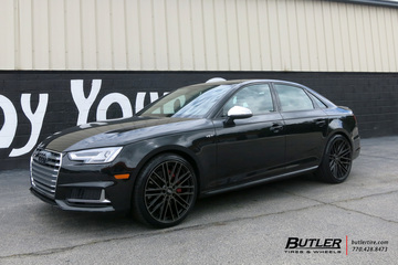 Audi S4 with 20in Mandrus Masche Wheels