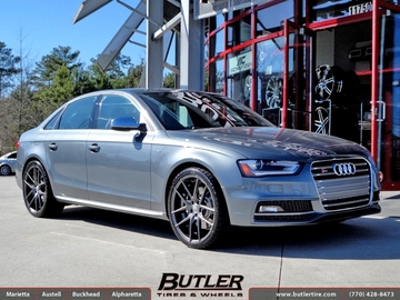 Audi S4 with 20in Niche Targa Wheels