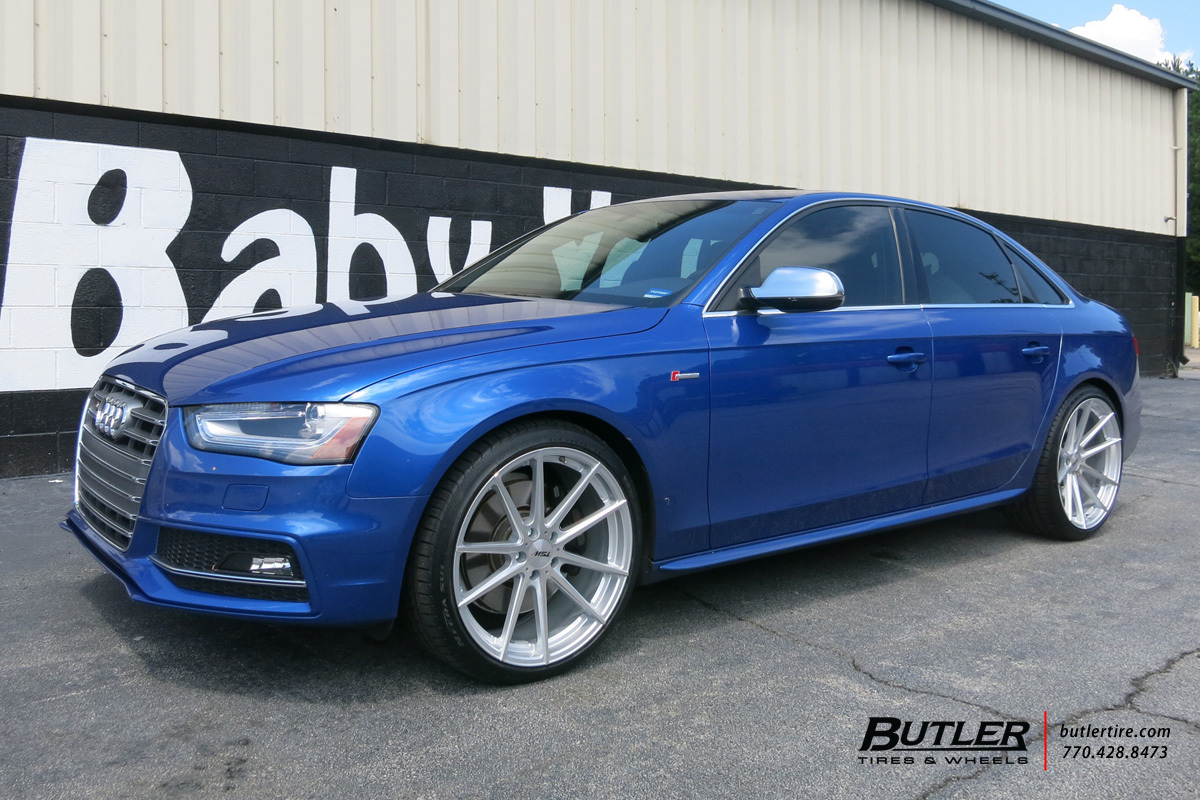 Audi S4 with 20in TSW Bathurst Wheels