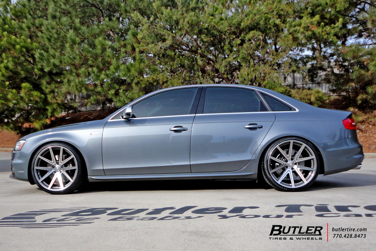 Audi S4 With 20in Tsw Rouge Wheels Exclusively From Butler