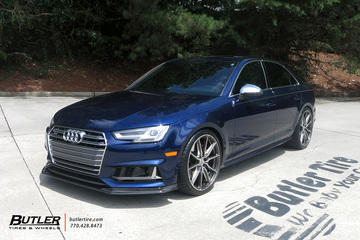 Audi S4 with 20in Vossen HF-3 Wheels