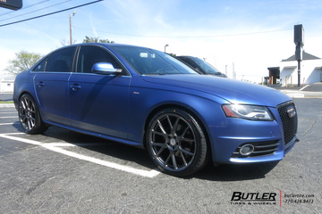 Audi S4 with 20in Vossen VFS6 Wheels