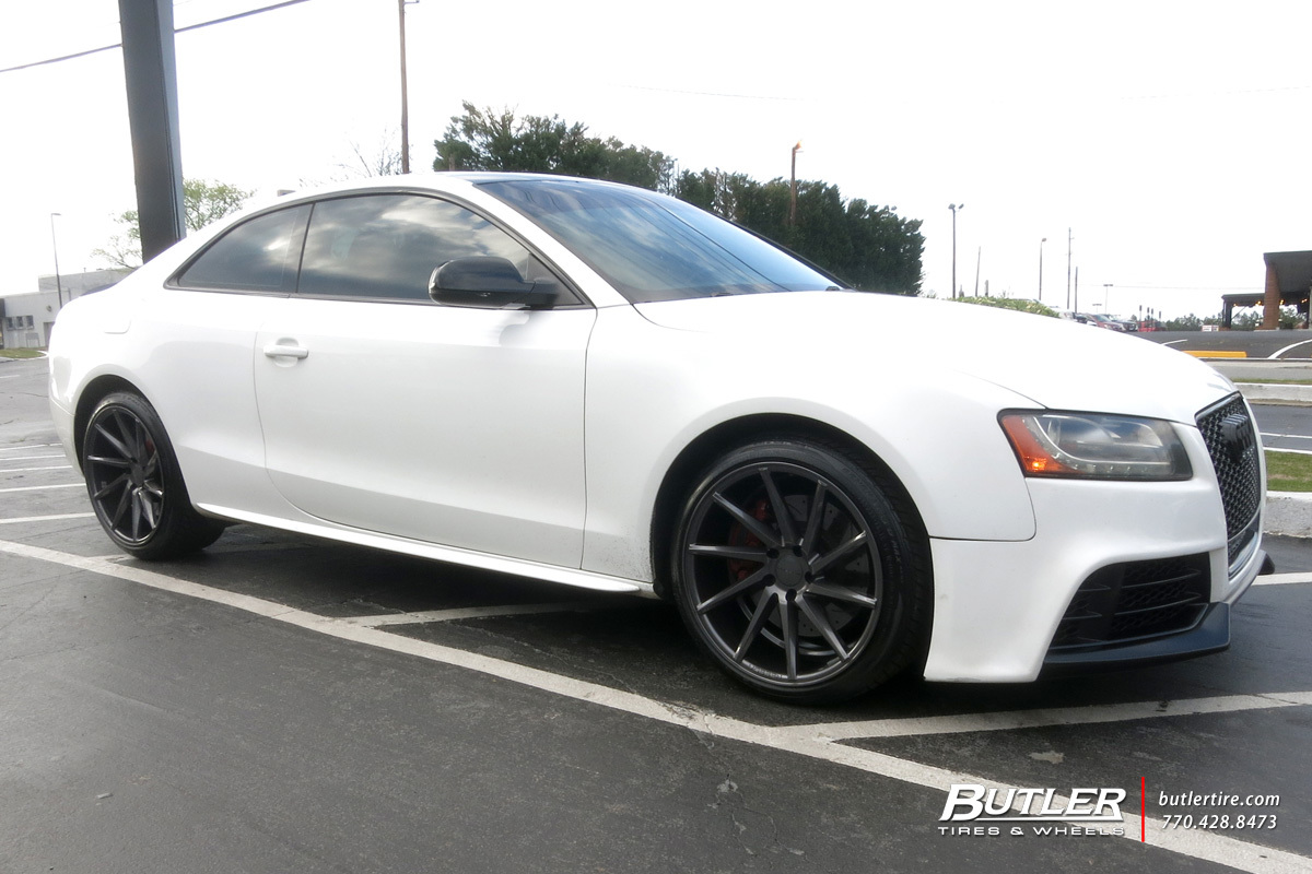 Audi S5 with 19in Vossen CVT Wheels
