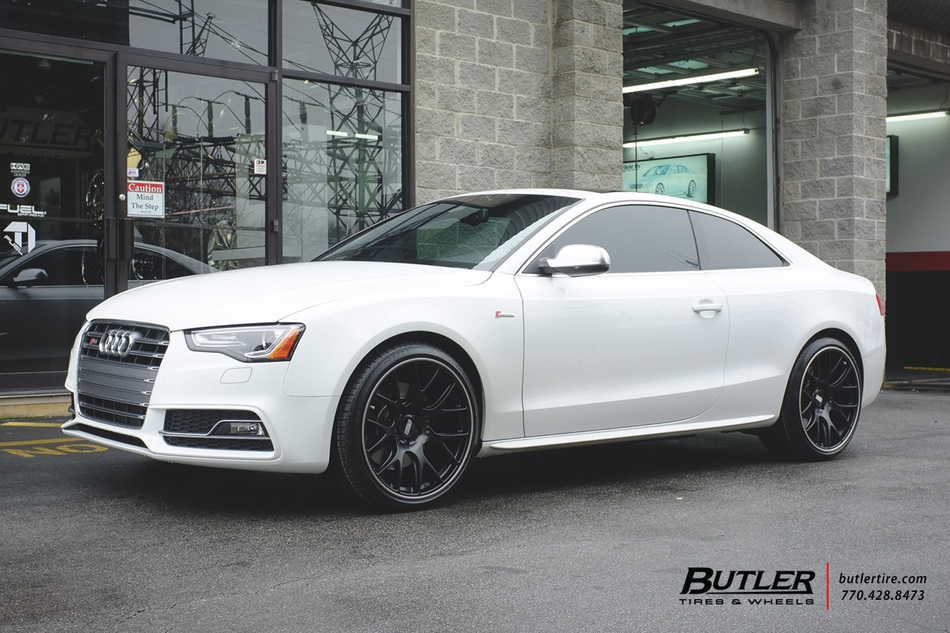 Audi S5 With 20in Bbs Ch R Wheels Exclusively From Butler