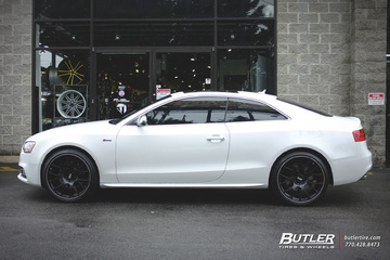 Audi S5 with 20in BBS CH-R Wheels