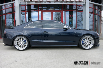 Audi S5 with 20in Rennen CSL-1 Wheels