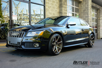Audi S5 with 20in Savini BM10 Wheels