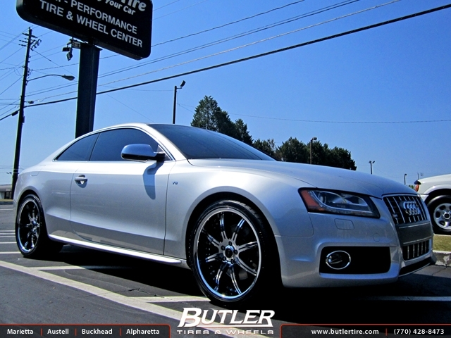 Audi S5 with 20in Savini BS3 Wheels