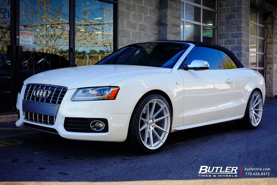 Audi S5 With 20in Tsw Bathurst Wheels Exclusively From