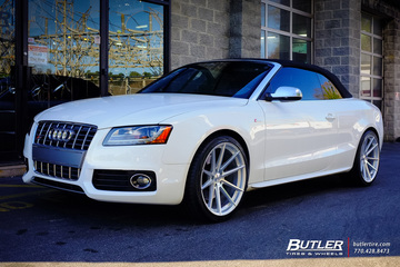 Audi S5 with 20in TSW Bathurst Wheels