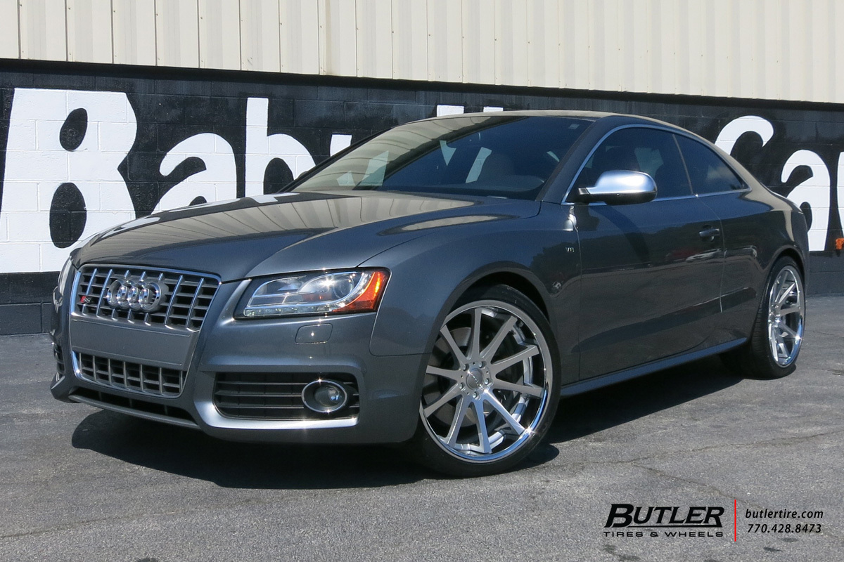 Audi S5 with 20in TSW Jerez Wheels