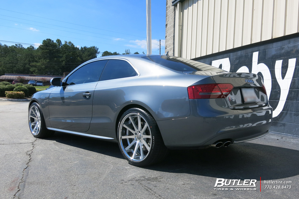Audi S5 with 20in TSW Jerez Wheels exclusively from Butler Tires and Wheels in Atlanta, GA ...