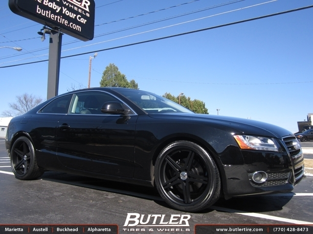 Audi S5 with 20in TSW Mirabeau Wheels