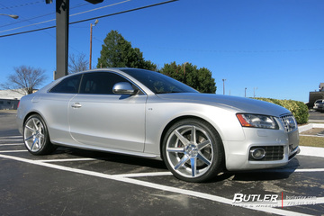 Audi S5 with 20in Vossen CV7 Wheels