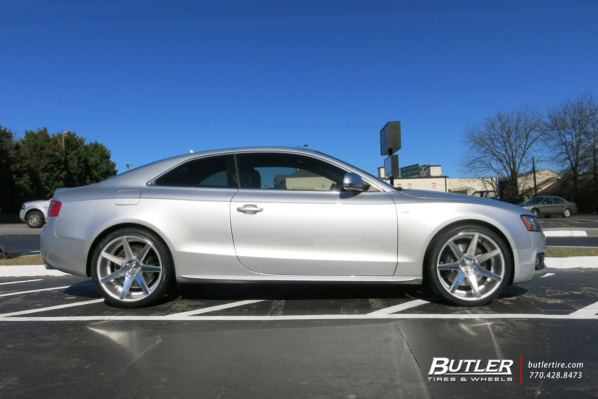 Audi S5 With 20in Vossen Cv7 Wheels Exclusively From Butler Tires And Wheels In Atlanta Ga
