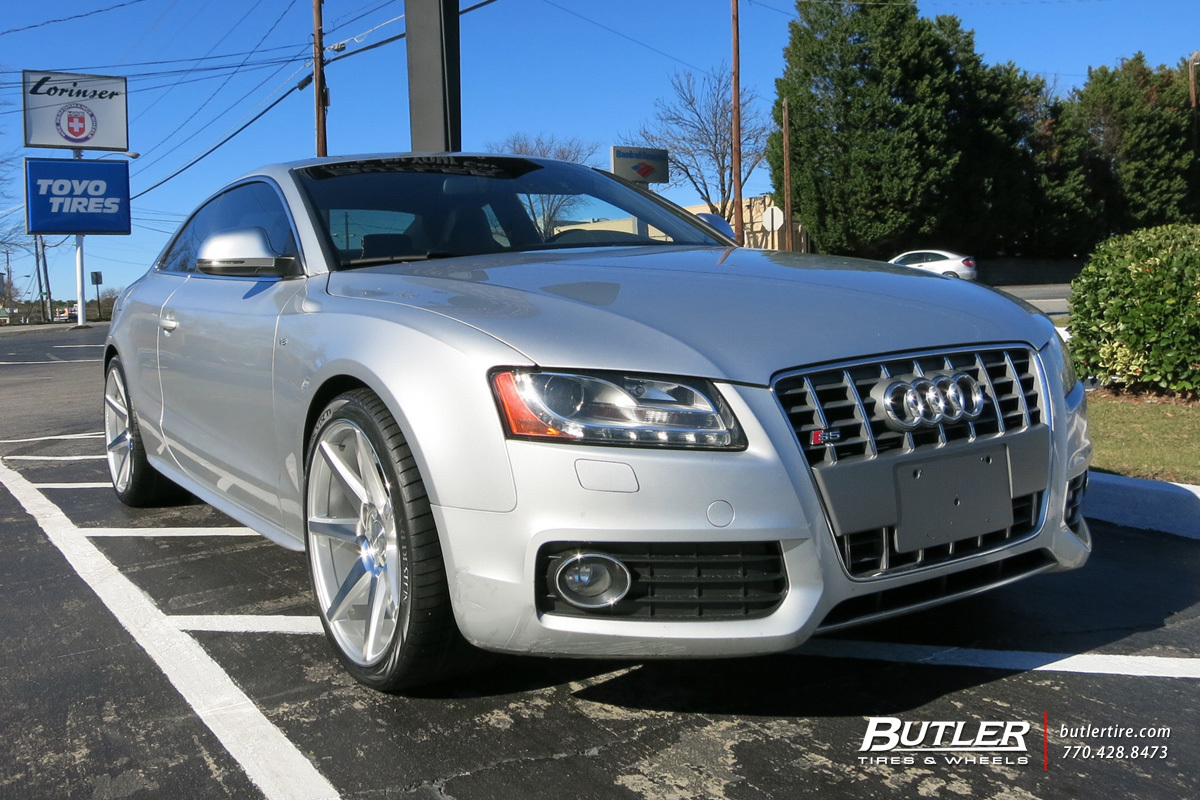Audi S5 Atlanta >> Audi S5 with 20in Vossen CV7 Wheels exclusively from Butler Tires and Wheels in Atlanta, GA ...