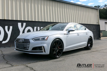 Audi S5 with 21in TSW Chrono Wheels
