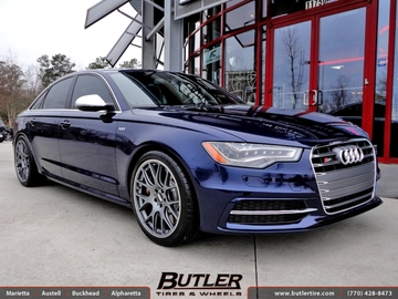 Audi S6 with 20in BBS CH-R Wheels