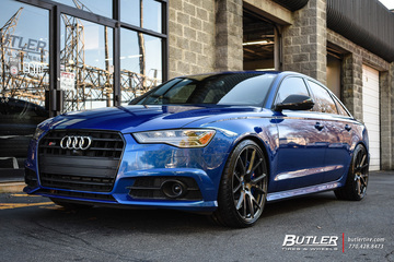 Audi S6 with 21in Vossen VPS-306 Wheels