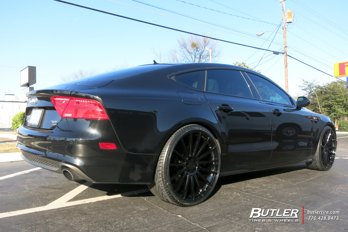 Audi S7 with 22in Victor Sascha Wheels
