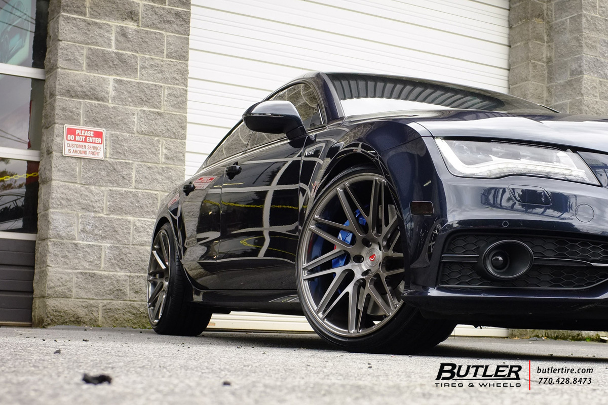 Audi S7 with 22in Vossen VPS-314T Wheels
