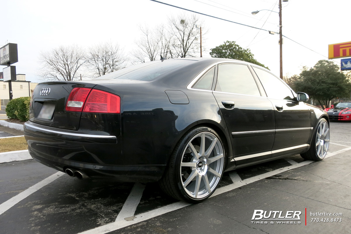 Audi S8 with 22in TSW Interlagos Wheels