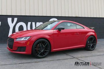 Audi TT with 20in Mandrus Otto Wheels