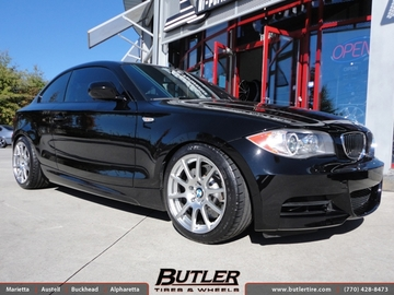 BMW 1 Series with 17in Beyern Bavaria Wheels