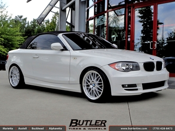 BMW 1 Series with 18in Beyern Mesh Wheels