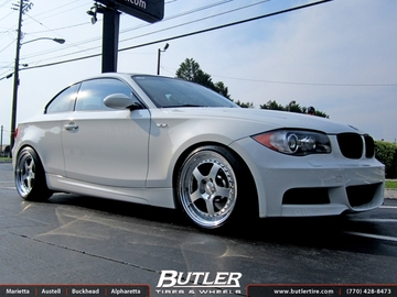 BMW 1 Series with 18in CCW LM5 Wheels