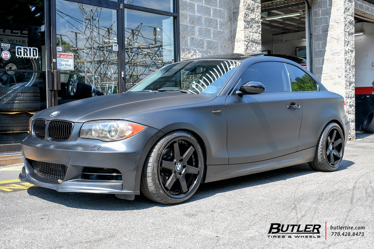 BMW 1 Series with 18in Niche Altair Wheels