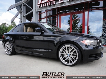 BMW 1 Series with 19in Beyern Spartan Wheels