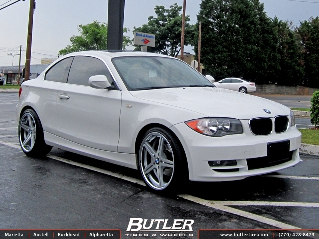 Bmw 1 Series With 19in Tsw Mirabeau Wheels Exclusively