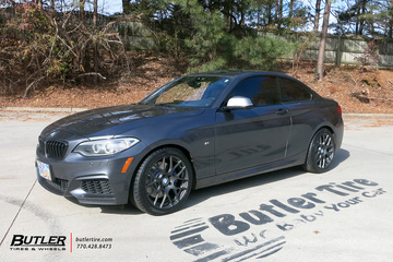 BMW 2 Series with 18in TSW Nurburgring Wheels
