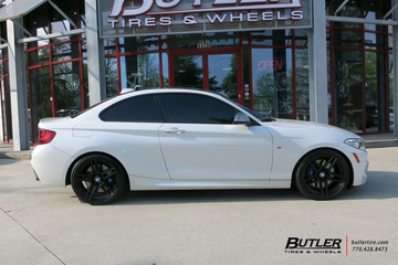 BMW 2 Series with 19in Beyern Gerade Wheels