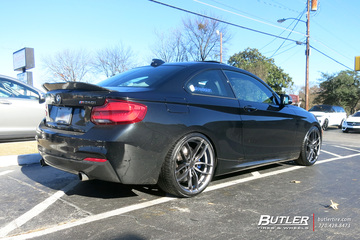 BMW 2 Series with 19in Niche Vosso Wheels
